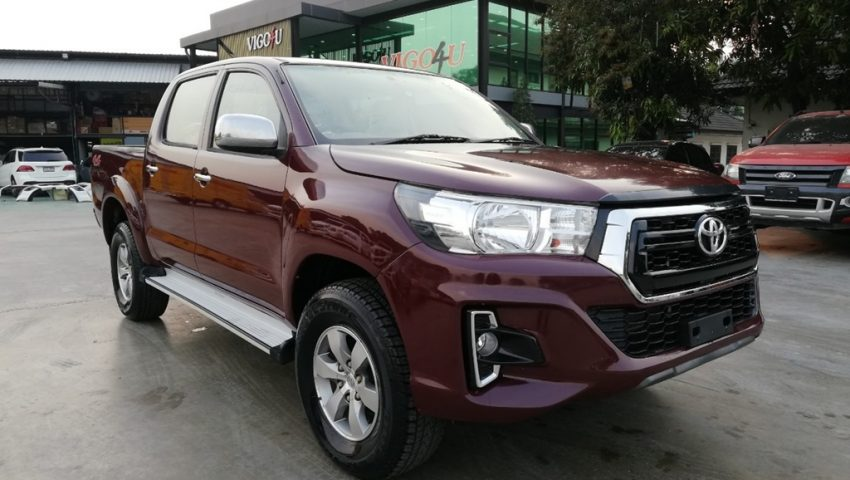 2007 - VIGO 4WD 2.7G AT DOUBLE CAB RED - 4264(face lifted ...